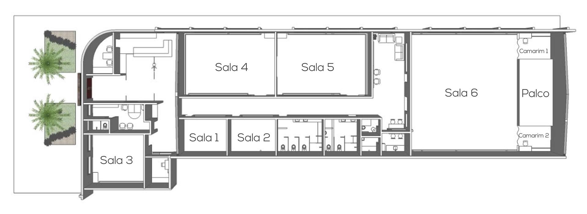 Estrutura Cenarium - Ambiente aconchegante e acolhedor de dança