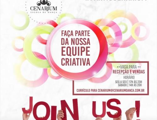 • Faça parte da Equipe Criativa Cenarium •