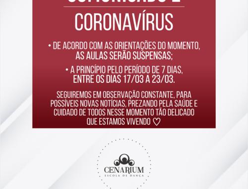 • Comunicado Coronavírus •