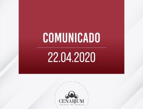 • Comunicado 22.04.2020 •
