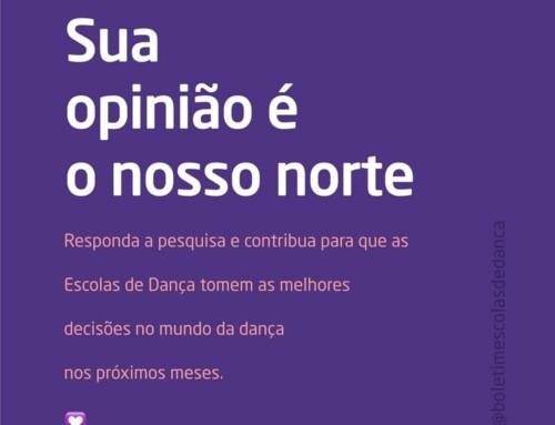 • Um movimento das Escolas de Dança!  •