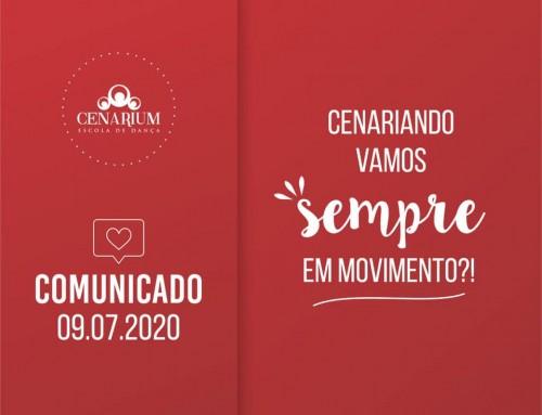 • Comunicado 09.07.2020 •