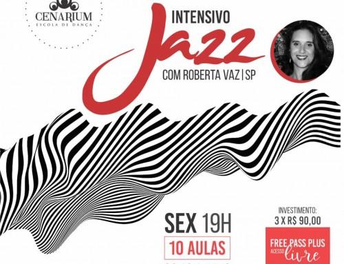 • Intensivo de Jazz Com Roberta Vaz•