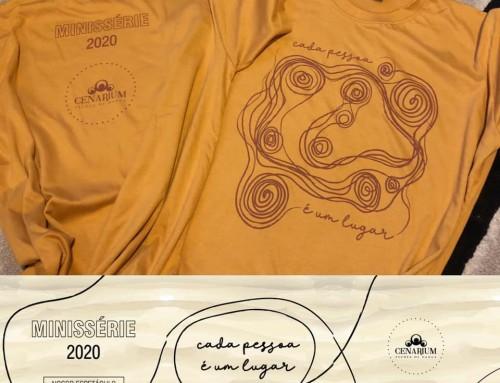 • Nossa camiseta do Kit Minissérie  •