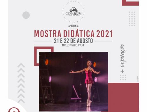• Mostra Didática 2021 – 21 e 22 de Agosto •
