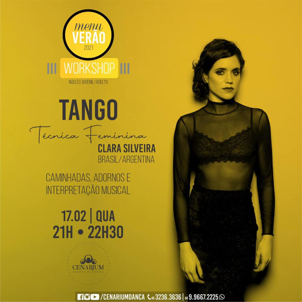 • Workshop Tango Com Clara Silveira •